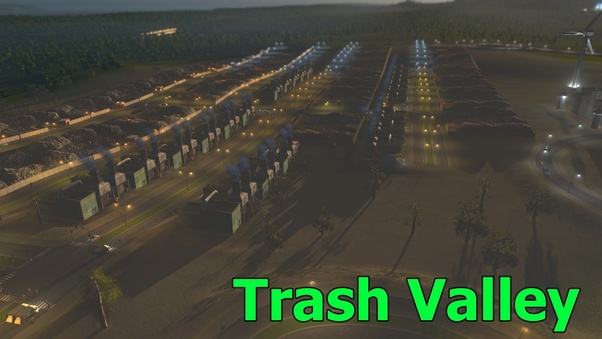 What's the best way to manage garbage in Cities: Skylines