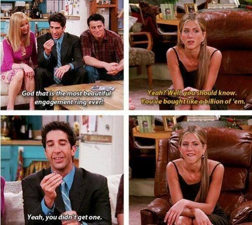 What Are Some Wise/funny Things Said By Ross Geller?