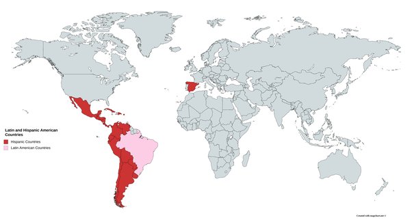 Is There A Difference Between Latin America And South America Quora - Is quebec a country