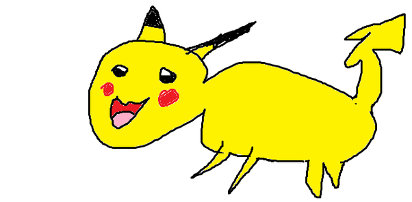 How many of you find it hard to draw pokmon pikachu quora look at my masterpiece bob ross would be proud thecheapjerseys Image collections