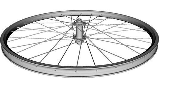 How do the spokes of a bicycle wheel work how is a wheel for Bicycle rims