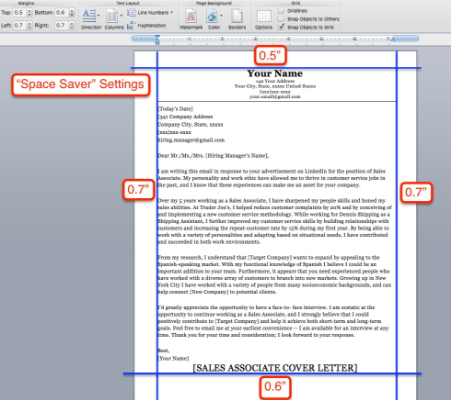 What are the margin alignment and font size, style rule to be ...