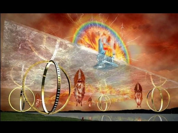There Are No Cars In Heaven But Spiritual Chariots Even Has His Own Chariot As Described The Book Of Ezekiel Chapters 1 And 10