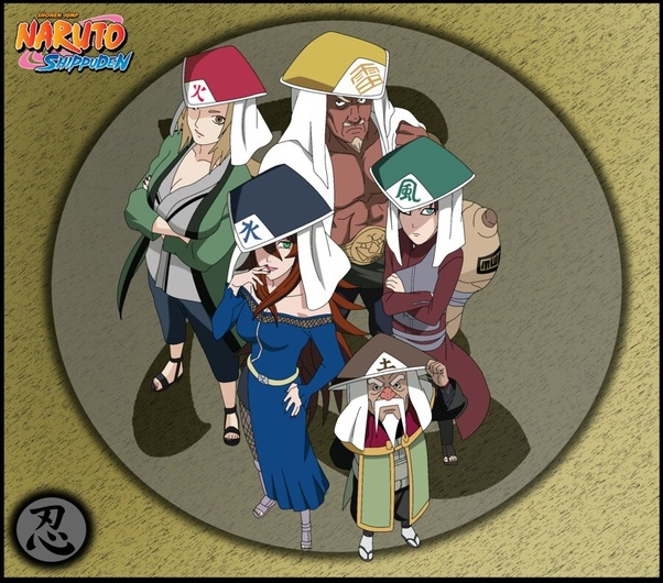 Naruto 5 Hokage
