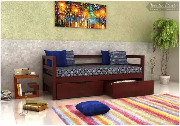 Nice If You Want A Comfortable Traditional Way Include A Beautiful Divan In Your Living  Room. These Also Have Storage Which Adds To The Utility Value.