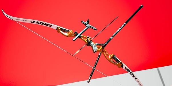 What is a comparison of capabilities between a recurve bow
