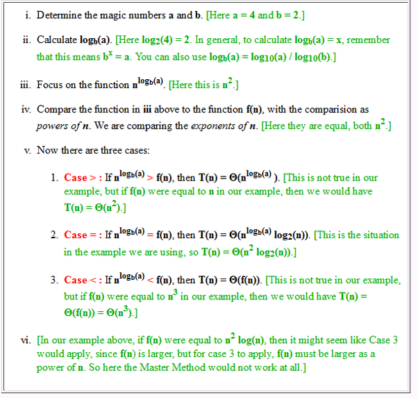 Recurrences Masters Theorem Programming Everyday Quora