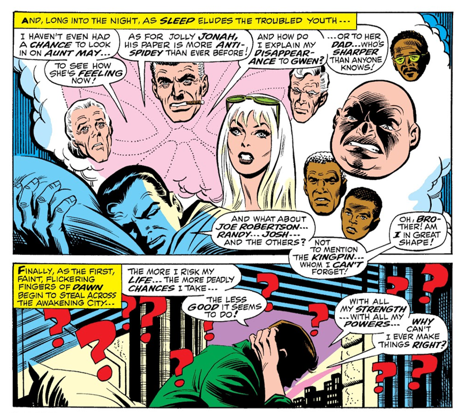 Spider-Man Character Study ― The Ultimate Essay Main-qimg-fc05a040b62f62c22aa47a4bdbfd3d91