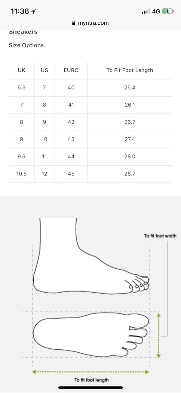 What Is The Equivalent Indian Shoe Size For The Uk Size 8 Quora
