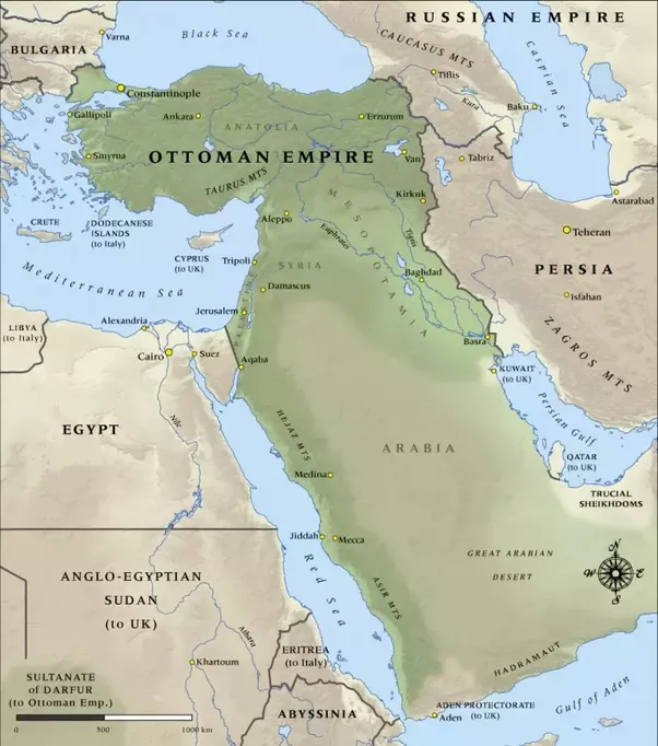 How would you redraw the borders in the middle east quora but as long as were theorizing why not put things back the way they were before the first world war gumiabroncs Choice Image