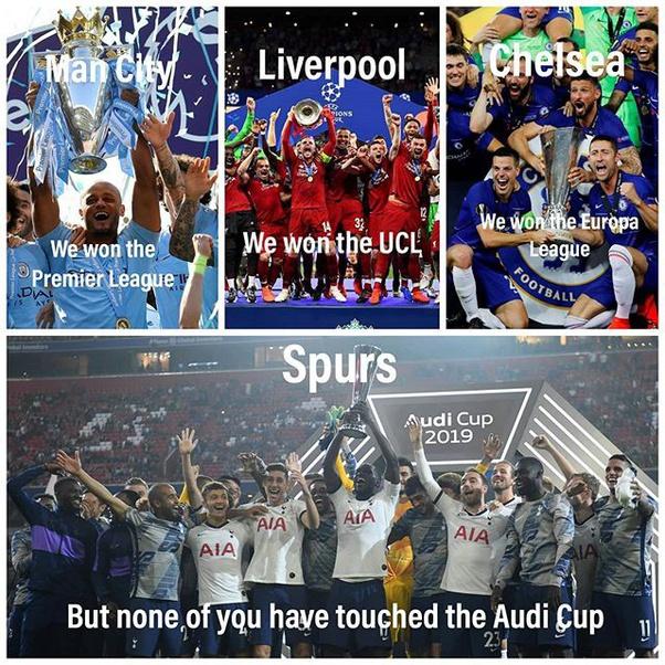 How Many Times Has Tottenham Hotspur F C Won The Premier League Quora