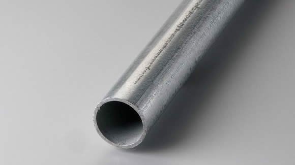 Should I use a black steel pipe or a galvanized steel pipe