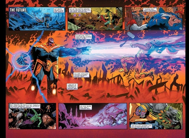 Who would win, King Thanos or Zeno? - Quora