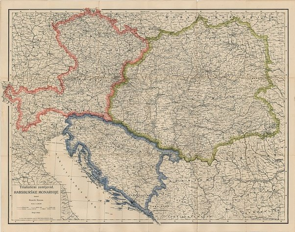 Did croatian soldiers fight for the austro hungarian empire in world as one of three kingdoms of the trialism in austria hungary wikipedia confederation if austria would win the war this map shows in blue what this gumiabroncs Choice Image