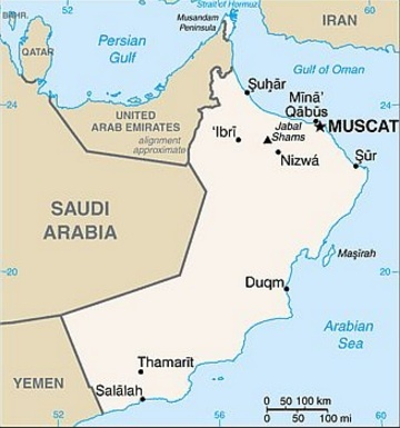 Why doesn\'t Oman build a border fence against the UAE along the ...