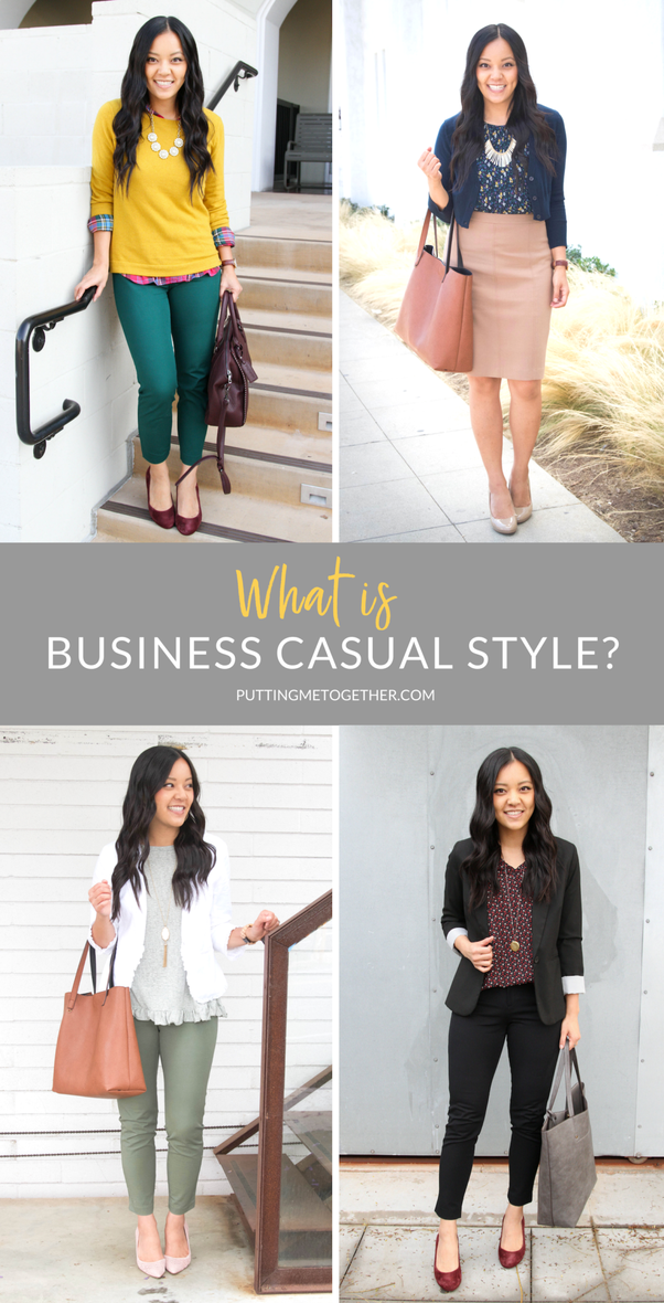How Would You Describe A Business Casual Outfit For A Woman Quora