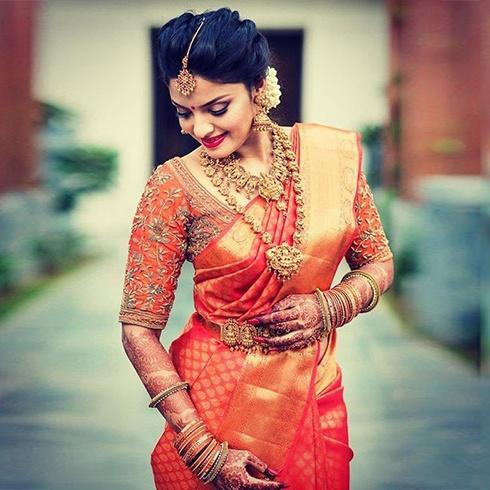 What Type Of Blouse Suits For Banarasi Saree Quora