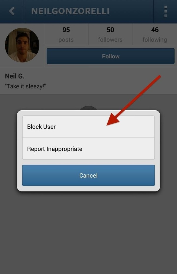 How to block a message on Instagram - Quora