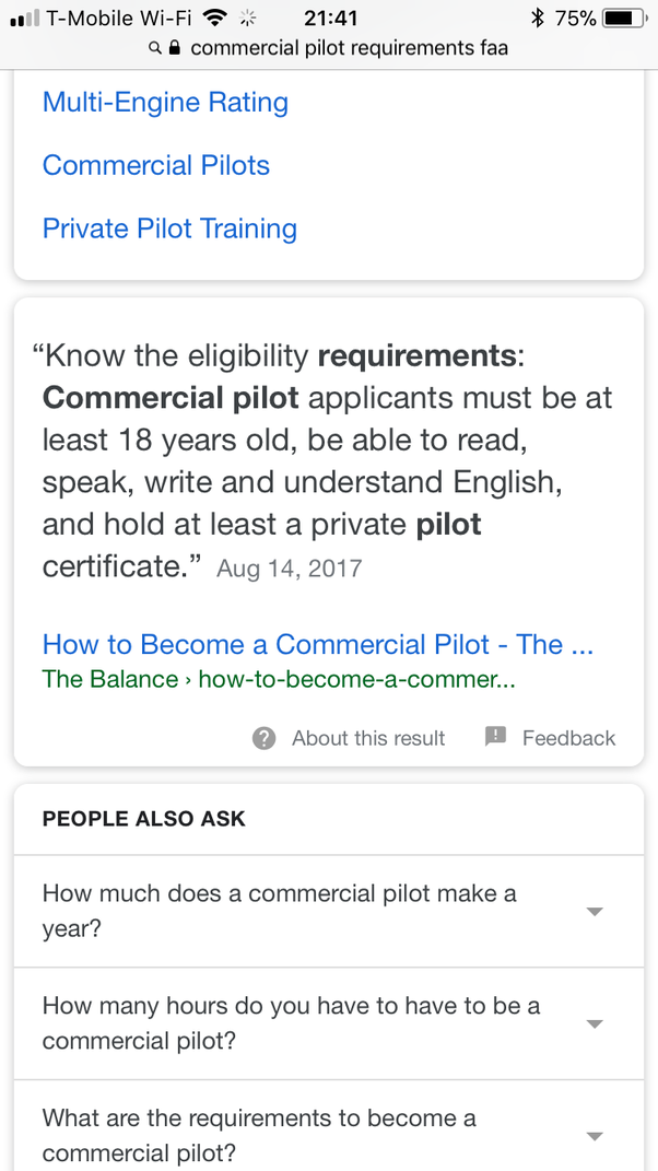 What Are Requirements To Enroll Yourself For Becoming A Commercial