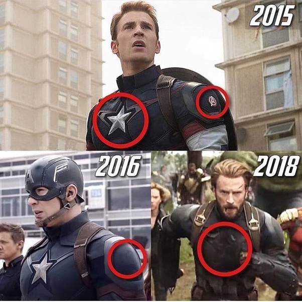 If You Look Closely At The Civil War Image Can Still Notice Imprint Of Avengers Logo Thats Been Removed Also Watch Start