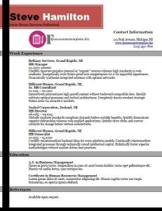 is a one column resume or a two column resume better quora