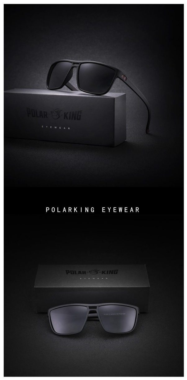 a2efd00b9f The glasses from the brand which has created quite some buzz is  POLARKING  Brand Polarized Sunglasses For ...