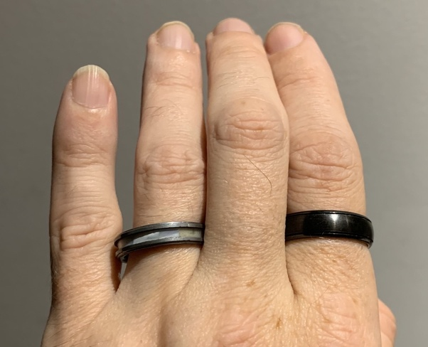 What Is A Black Wedding Ring Made Of Quora
