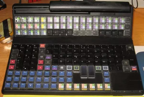 Dvorak keyboard cover