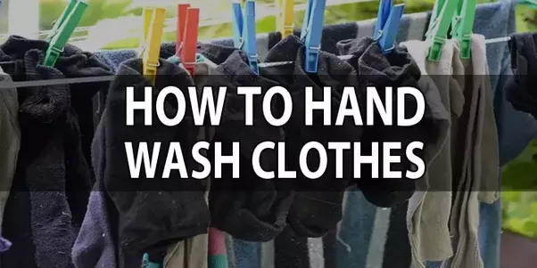How To Hand Wash Clothes With A Powder Detergent Quora