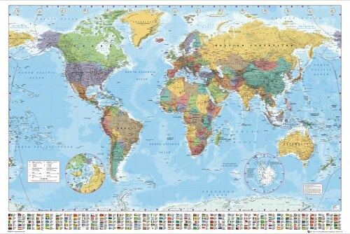 How to improve my knowledge about different places located in the at last the best way is to get a globe it will show the size and locations of all the continents in a correct way youll understand where the continents gumiabroncs Gallery