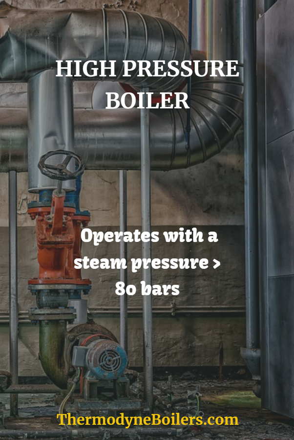 What is a high pressure boiler? What is its range? - Quora
