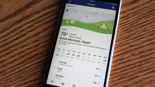 What are the most commonly used weather APIs in mobile apps? - Quora