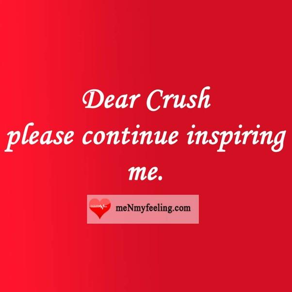 What are some WhatsApp status for crush? - Quora