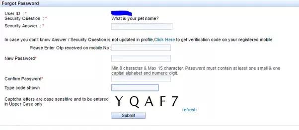 how to get my blackberry id password