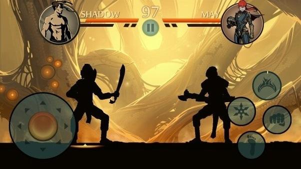 Shadow fight 2 3 глава бой с титаном тактика убить титана.