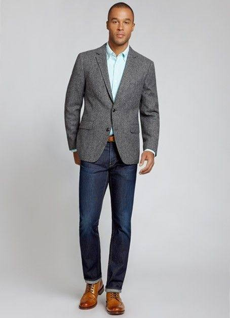 What color shoes should I wear with a gray blazer? - Quora