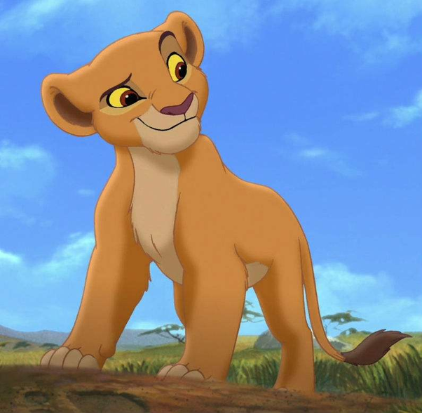 In The Lion King Who Is The Cub Of Simba And Nalas In The