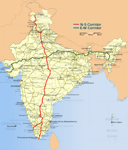 Which is the longest national highway in India? - Quora