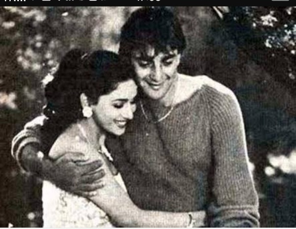 Is this true that Sanjay Dutt and Madhuri Dixit were getting ...