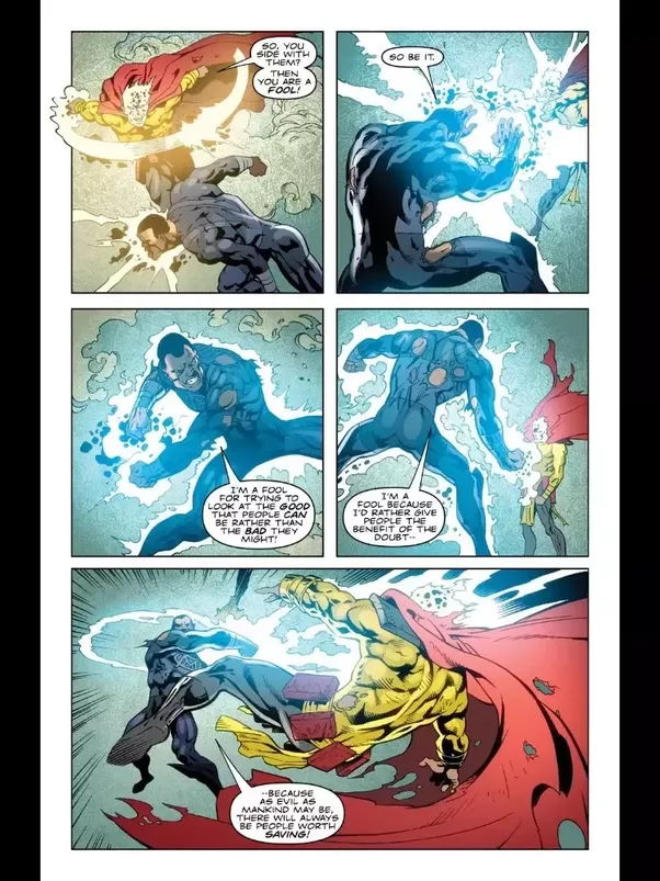 how strong is blue marvel quora