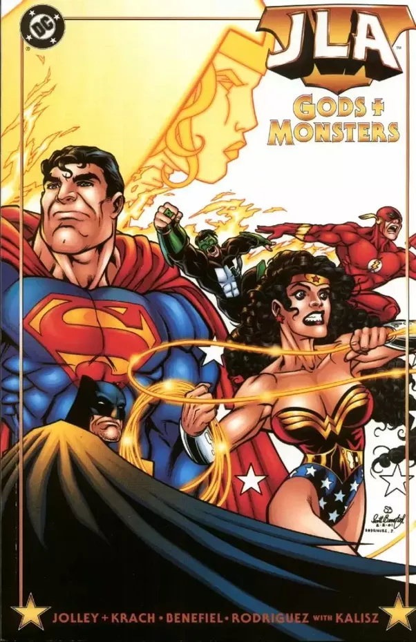 In addition to the Darkseid War, there was another comic, an original  graphic novel, that had a similar premise, if I recall correctly, called  JLA: Gods ...