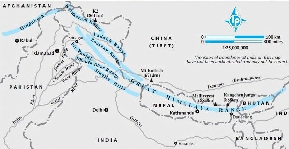 What are the physiographic divisions in India? - Quora