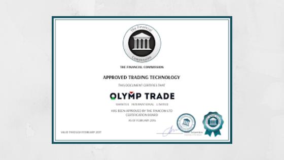 apakah olymp trade benar