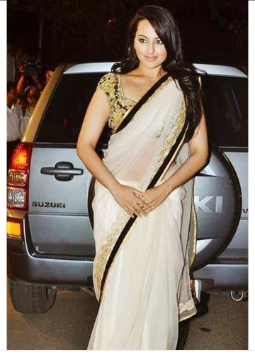 Who looks more beautiful and hot to the white saree ...