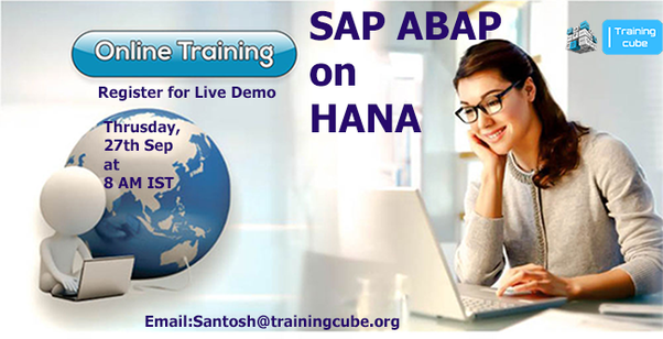 Where can I learn ABAP on HANA? - Quora