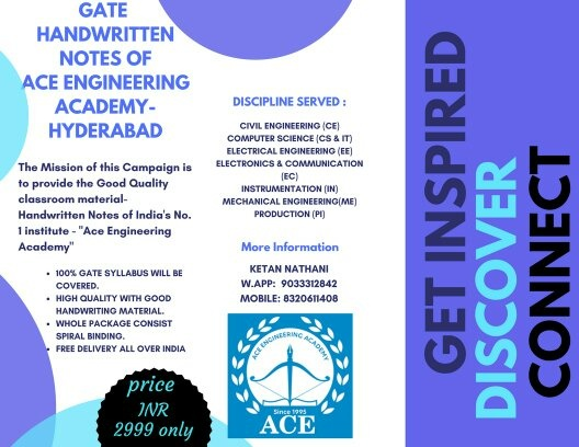 Which book is best for gate exam for civil engineers quora you can order hand written notes of ace engg academy from below contact details at reasonable price for all branch fandeluxe Image collections