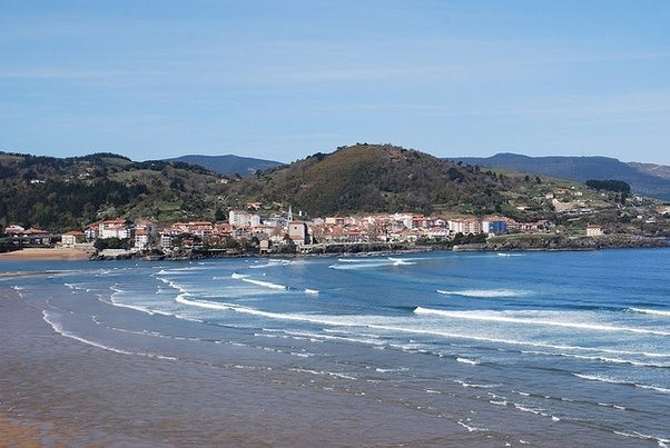 what are the best surfing spots in spain between san