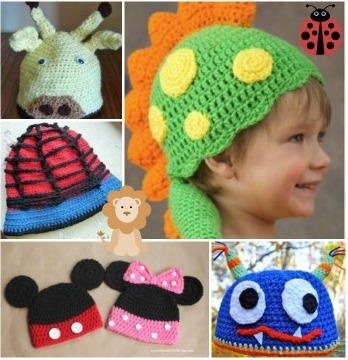 What Are Some Creative Crochet Hat Patterns For A Child Quora