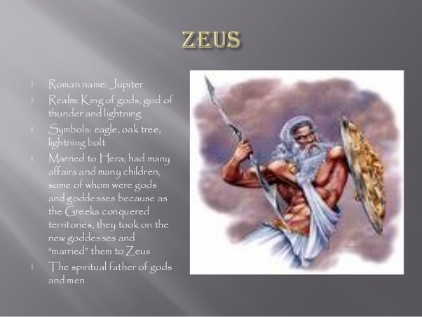 Are the Titans and gods in Greek mythology the same as the