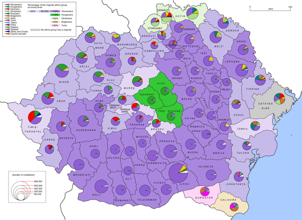 Romania's Population in 1930